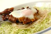 卵入り牛肉のソース炒めの作り方3