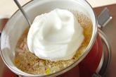 カニカマの卵白スープの作り方2
