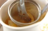 サツマイモと油揚げのみそ汁の作り方2