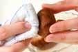 ゴマみそ豆腐汁の下準備1