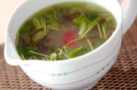 もずくの梅スープ