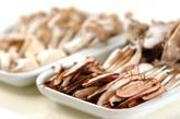 キノコのサワークリーム煮の下準備1