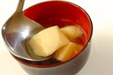 卵豆腐のすまし汁の作り方2