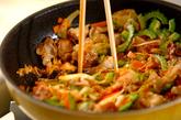 ガッツリ豚キムチの作り方2
