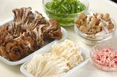 豆腐ステーキ・キノコソースの下準備2