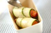 くるくるズッキーニのサラダの作り方2