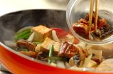 ウナギと豆腐の甘辛炒め煮の作り方2