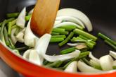ウナギと豆腐の甘辛炒め煮の作り方1