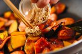 カボチャのチーズ炒めの作り方2