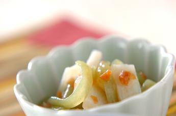 長芋の梅肉和え