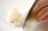 長芋の梅肉和えの作り方1