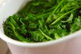 菜の花のタラマヨ和えの作り方1