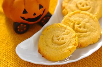 カボチャのハロウィンクッキー