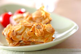 サツマイモのアーモンド揚げ