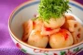 冷凍里芋の梅肉和え