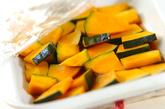 カボチャのレンジ煮の作り方1