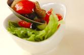 トマトとレタスのスパイシーサラダの作り方2
