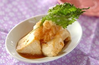 おろしのせ揚げ豆腐