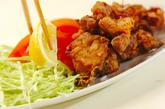 鶏の唐揚げの作り方2