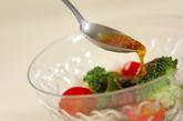 ホタテと海藻のサラダの作り方1