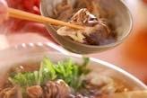 キノコたっぷり鍋の作り方1