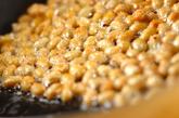 大豆とシイタケのバターじょうゆ炒めの作り方1