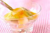オレンジ白玉の作り方2