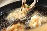 イカとキャベツのかき揚げの作り方2