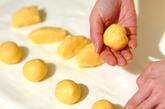 葉っぱ模様のメロンパンの作り方4