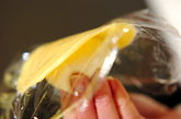 葉っぱ模様のメロンパンの作り方22