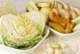 ほっくり野菜ホイル焼きの下準備1