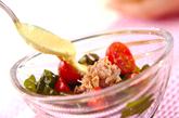 ワカメとツナのサラダの作り方1