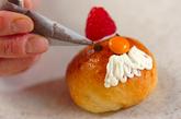 サンタとトナカイのなかよしパンの作り方7