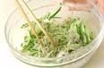 チリメンジャコの甘酢の作り方1