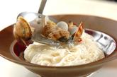 アサリのエスニック素麺の作り方2