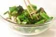 青菜のおひたしの作り方2