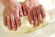 手作りクリスピーピザの作り方1