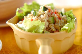 そば米サラダ