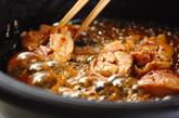 鶏肉のすき焼きの作り方2