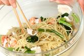 魚介のパスタバルサミコ風味の作り方4