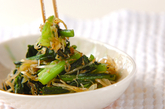 カブの葉の炒め物の作り方3