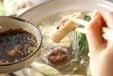 鶏の水炊き・揚げ餅入りの作り方2