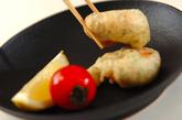 エビの中華風天ぷらの作り方3