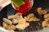 シーフードのトマト炒めの作り方2