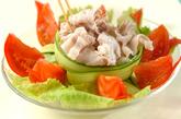 豚冷しゃぶのニンニクソースの作り方4