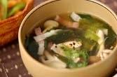 シメジのスープ