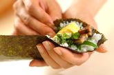 お手軽手巻き寿司の作り方2