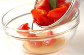 甘酢トマトの作り方1