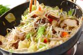 モヤシ炒めのあんかけの作り方2