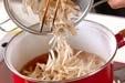 ウナギの柳川丼の作り方1